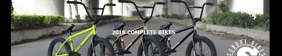 New arrival - Sunday 2018 complete bikes