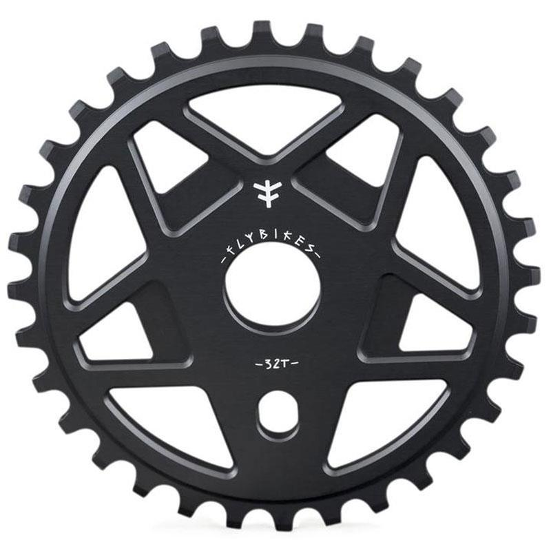 FLYBIKES TRACTOR XL SPROCKET  Black