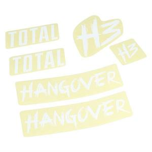 Total Hangover H3 Sticker Kit