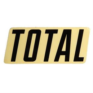 Total Logo Sticker Small