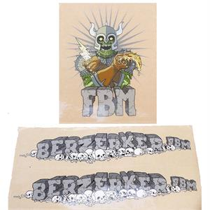 FBM Berzerker Sticker Set