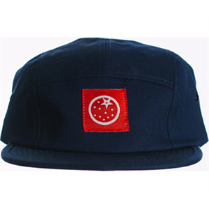 Orange Juice 5 panel camp hat