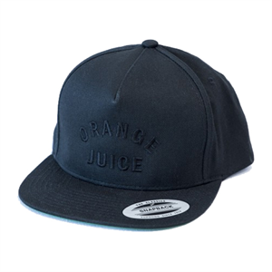 Orange Juice blk/blk snapback