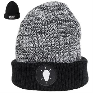 Shadow Static Reversible beanie